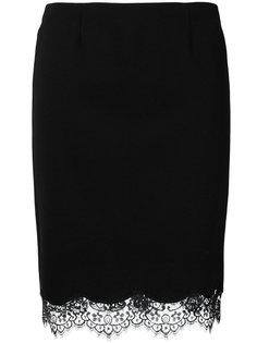 юбка с кружевной оторочкой Blumarine