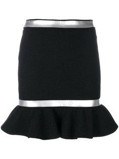 юбка с баской  Moschino