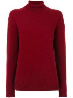 свитер с отворотом  Jil Sander