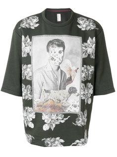 футболка с цветочным принтом Antonio Marras