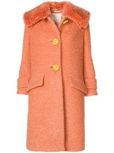 пальто с большим воротником  Miu Miu