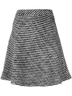 расклешенная плиссированная юбка Moncler