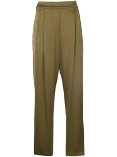 свободные атласные брюки  Erika Cavallini