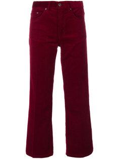 укороченные вельветовые брюки Marc Jacobs