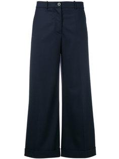широкие укороченные брюки Erika Cavallini