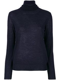 свитер с отворотной горловиной Erika Cavallini