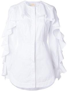 рубашка с оборкой  Sara Battaglia