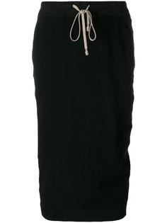 юбка со шнурком  Rick Owens DRKSHDW
