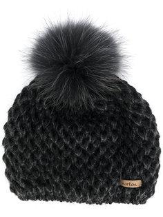 шапка-бини с помпоном Norton