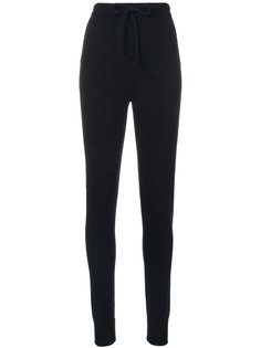спортивные брюки слим с завышенной талией  Woolrich