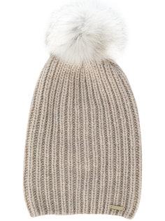 кашемировая шапка с помпоном Woolrich