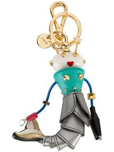 подвеска на сумку в виде русалки Prada