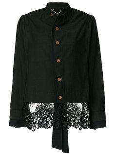 приталенный пиджак с кружевной отделкой  Pihakapi