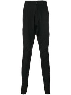брюки скинни с заниженной проймой Devoa