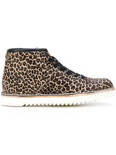 ботинки с леопардовым узором Ps By Paul Smith