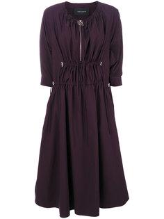 платье с воротником на молнии Cédric Charlier