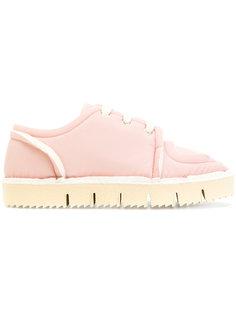 кроссовки со шнуровкой Marni