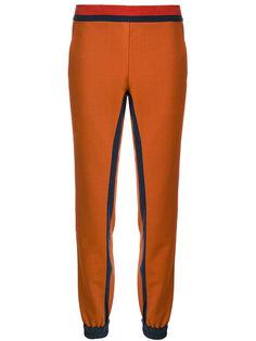 брюки с контрастными полосками  Antonia Zander