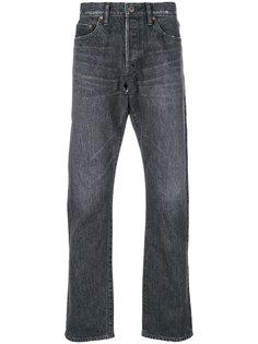 выбеленные джинсы прямого кроя Simon Miller