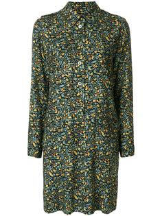 платье на пуговицах с цветочным принтом  A.P.C.