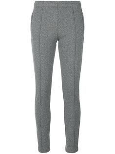 брюки скинни с декоративными швами  Moncler Grenoble