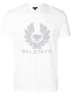 футболка с принтом с логотипом Belstaff
