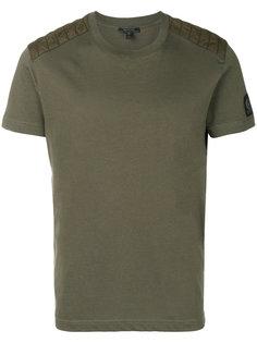однотонная футболка Belstaff