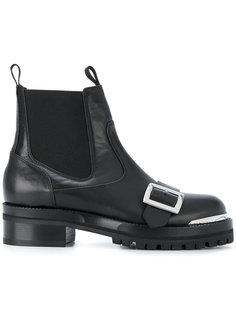 ботинки с пряжкой спереди Alexander McQueen