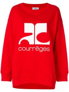 толстовка с логотипом Courrèges