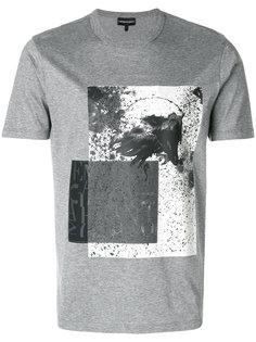 футболка с принтом Eagles  Emporio Armani