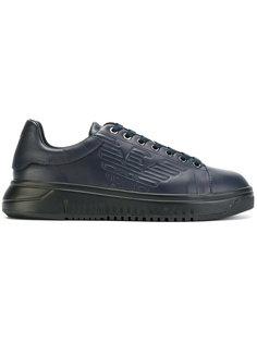 кроссовки с логотипом Emporio Armani
