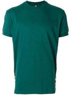футболка с контрастными полосками Kappa