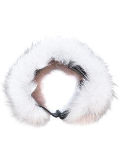 меховая повязка на голову Mr & Mrs Italy