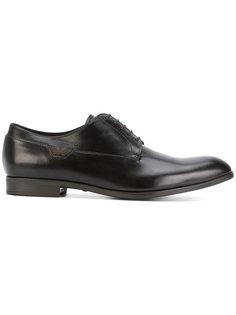 классические ботинки Дерби Emporio Armani