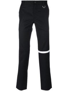 брюки скинни с контрастной полоской Icosae