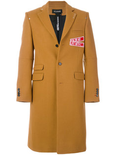 пальто с заплатками Icosae