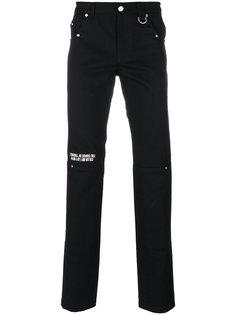 джинсы скинни с графическим принтом Icosae