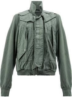 куртка с мятым эффектом Julius