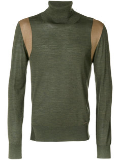 свитер с отворотной горловиной  Dsquared2