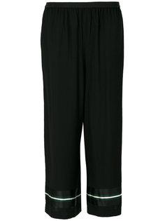 укороченные широкие пижамные брюки  IM Isola Marras