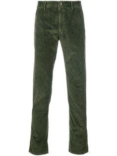 вельветовые брюки Incotex
