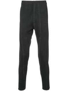 брюки скинни  с потертой отделкой Label Under Construction