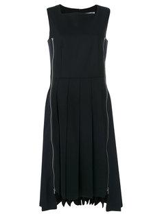 плиссированное платье-миди Comme Des Garçons Comme Des Garçons