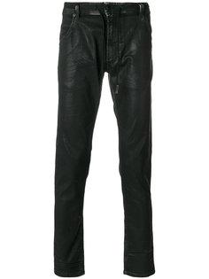 фактурные брюки на шнурке Diesel