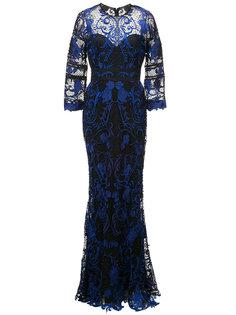 delicate lace gown Marchesa Notte
