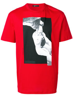 футболка с принтом скульптуры Versace