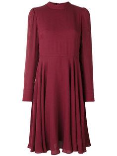 платье с воротником с завязкой Valentino