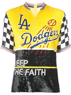 sequinned Dodgers top Ashish
