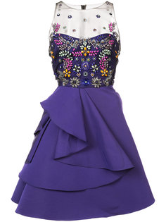 stone embellished dress Marchesa Notte