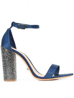 босоножки на контрастных каблуках Schutz